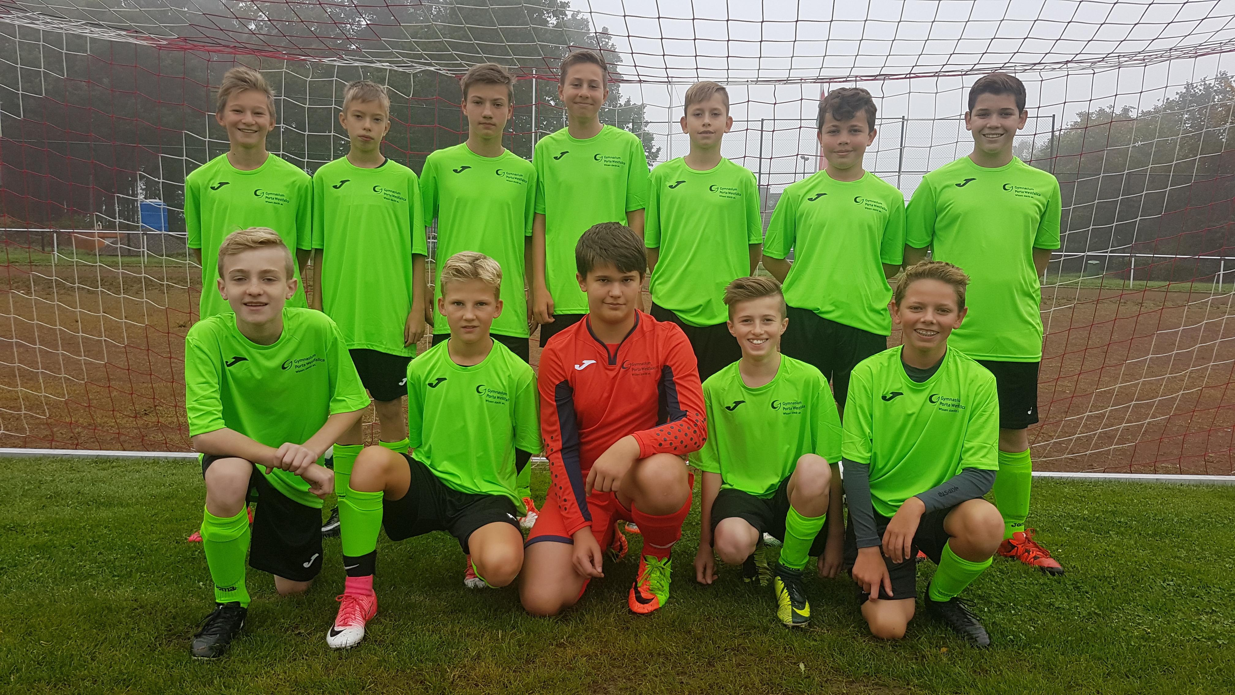 WK III-Team im neuen Gewand
